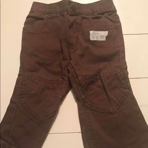 Other - 12 mo brown pants